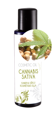 Cosmetic oil Cannabis